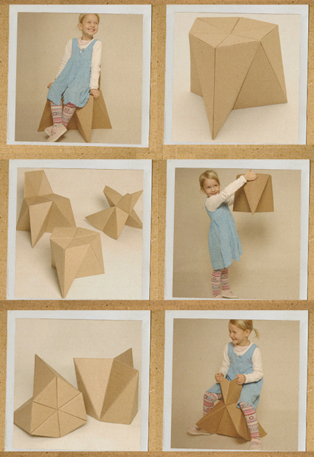 Origami Chair | How to Make a Paper Chair | Origami Furniture ... | 654x450