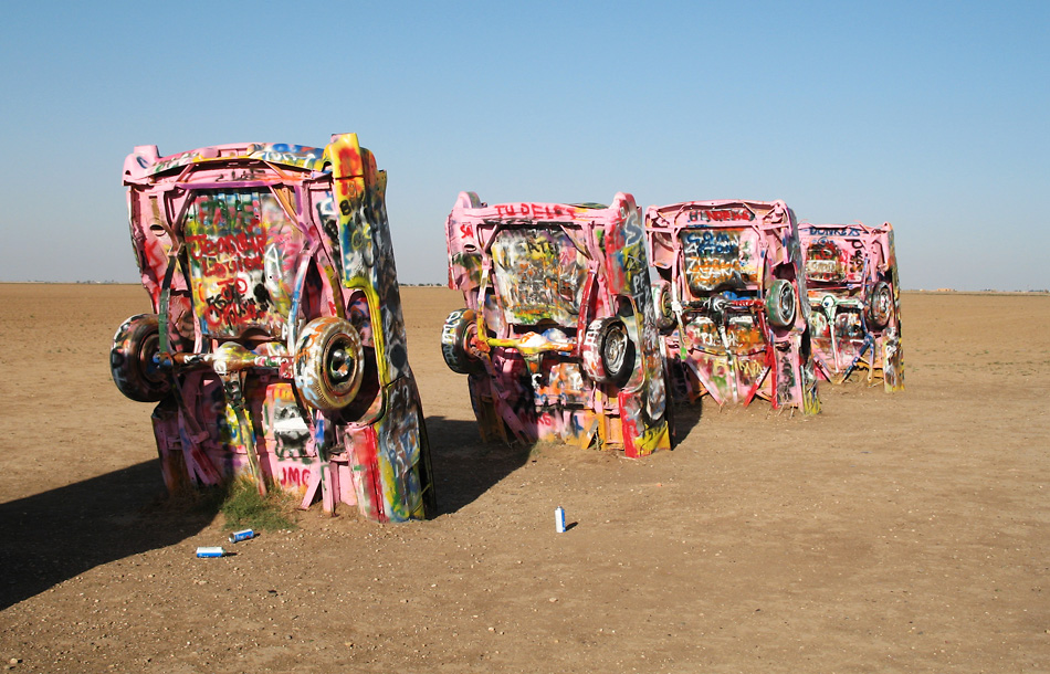 happen to be anywhere near amarillo texas check out cadillac ranch. Cars Review. Best American Auto & Cars Review