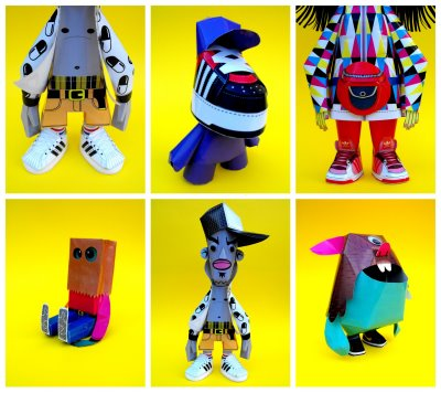 And Step By Instructions On How To Construct Each One Make Them Your Own We Are Paper Toys Also Includes A DVD Featuring The Templates For All