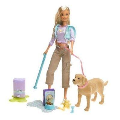 Pooping Dog Barbie Toy
