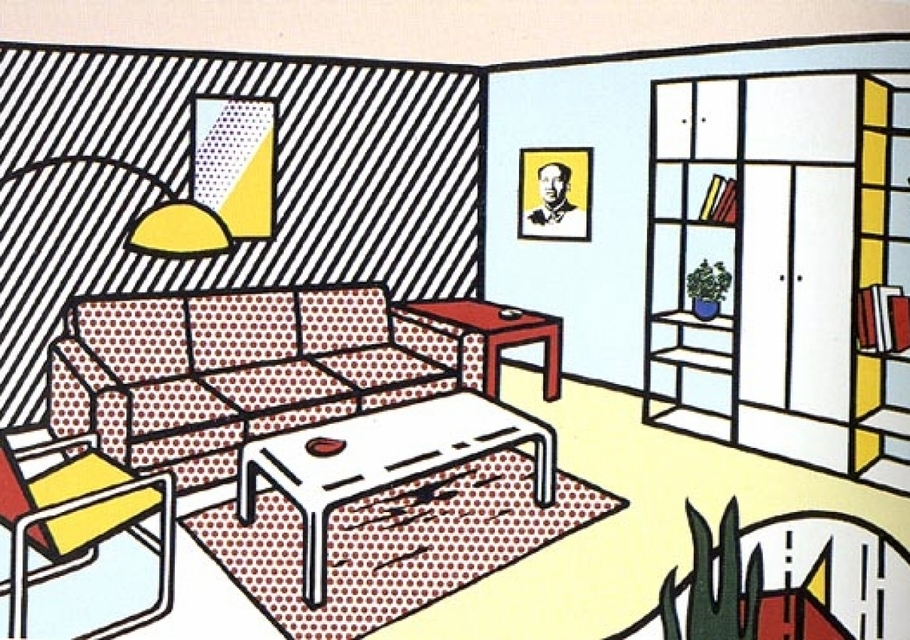 Interiors By Roy Lichtenstein Superradnow