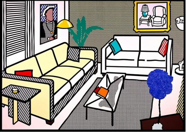 interiors by roy lichtenstein superradnow