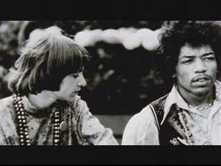 Rodney Bingenheimer and Jimi Hendrix