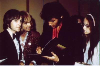Rodney Bingenheimer and Elvis Presley