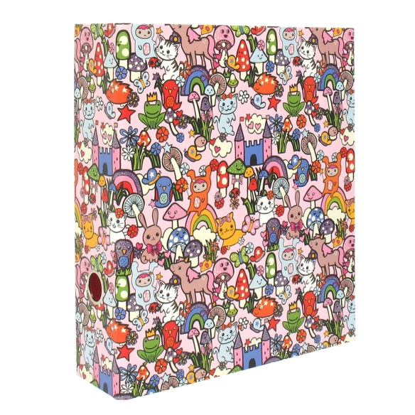 a Candy Kingdom binder from Paperchase