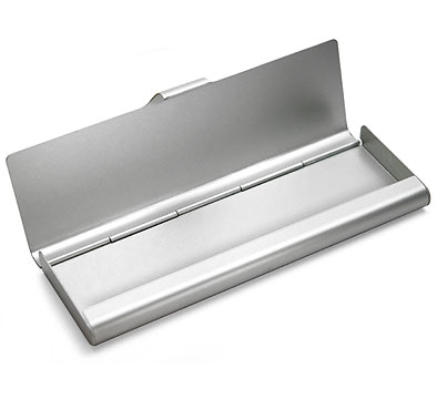 Muji aluminum pencil case