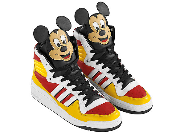 Jeremy Scott x Adidas x Disney