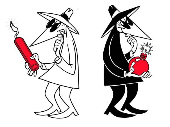 Image result for Spy vs Spy Cartoon